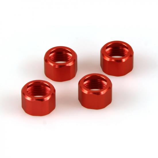 Helion 9951093 Shock Cap Rings Orange (Dominus)
