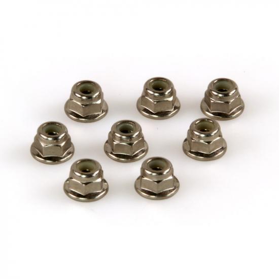 Helion 9951246 Locknuts Flanged M4