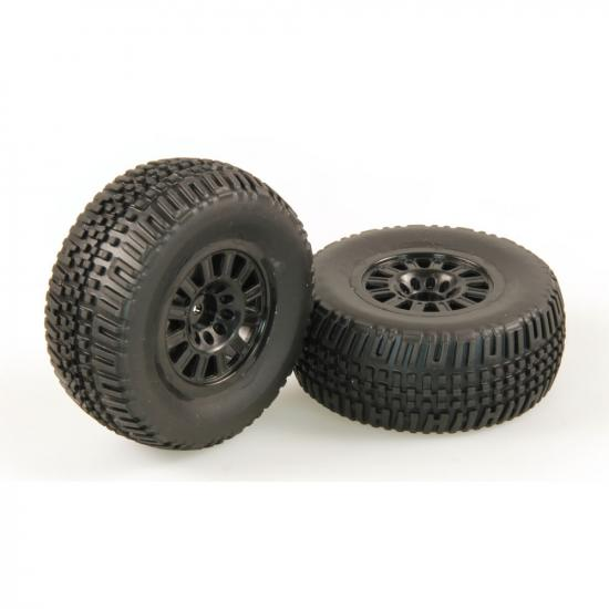 Helion 9951291 Tyres Black Wheel Pair (Dominus Sc)