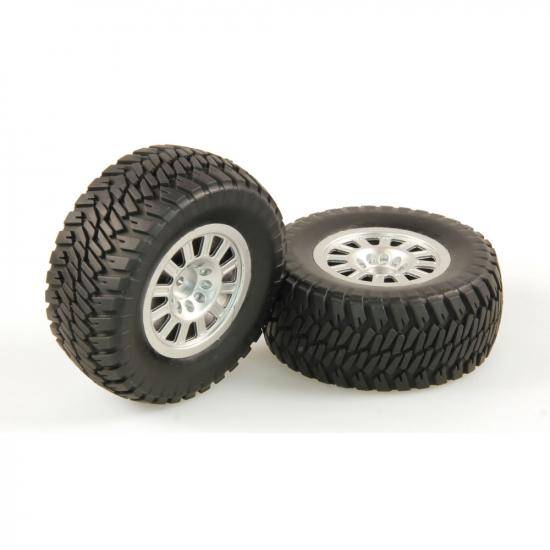Helion 9951294 Tyres At2 Silver Wheel Pair (Dominus