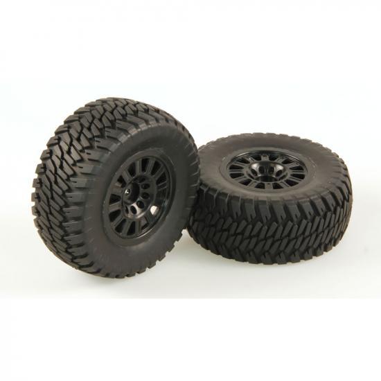 Helion 9951297 Tyres At2 Black Wheel Pair (Dominus