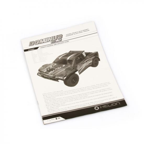 Helion 9951303 Dominus 10Sc Owner S Manual