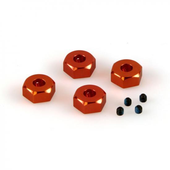 Helion 9951309 Aluminium Wheel Hex Set (Dominus)