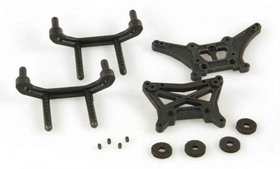 Helion 9951348 Shock Tower Body Mount (Dominus Tr)