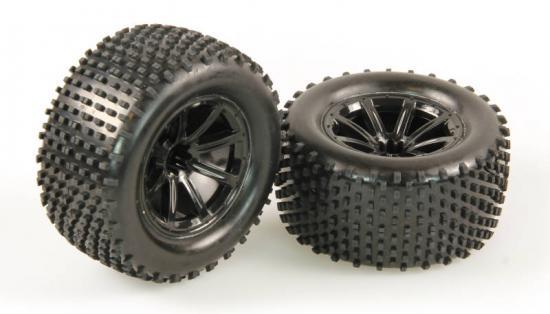 Helion 9951384 Tyres Black Wheel Pair (Dominus Tr)