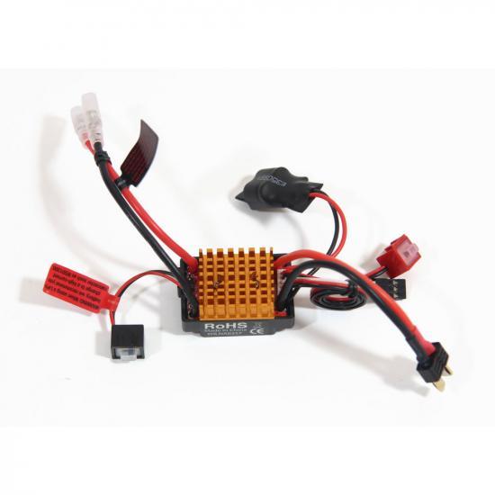 Helion ESC Metric 30A Waterproof, Brushed, Reverse-LiPo, 2WD, HCT-Plug