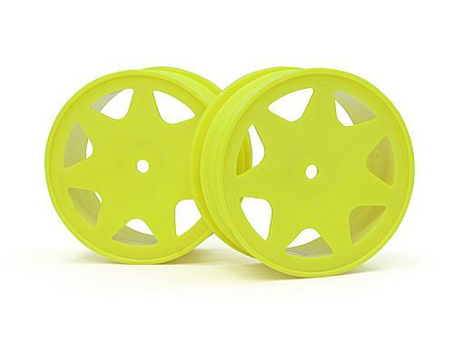 Ultra 7 Wheels Yellow 30mm (2Pcs)