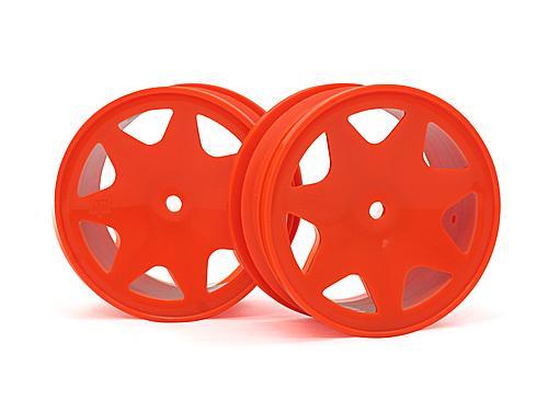 Ultra 7 Wheels Orange 30mm (2Pcs