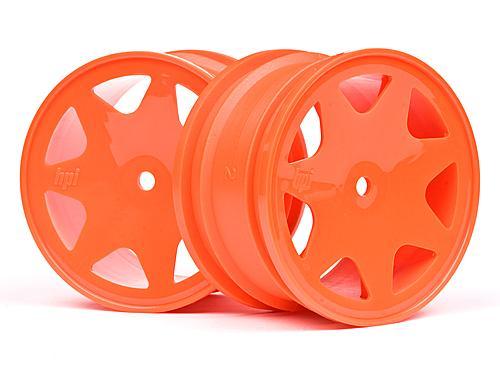 Ultra 7 Wheels Orange 35mm (2Pcs)