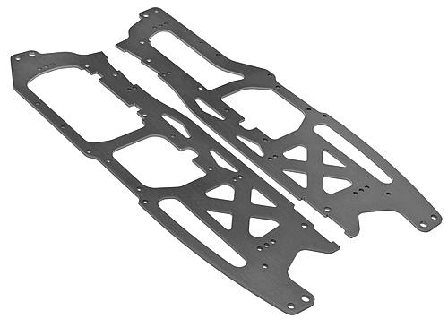Main Chassis Set 2.5mm, Grey (Savage Flux HP)