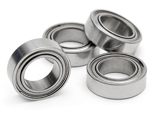 #HBC8088 - 6x10x3mm Steel Sealed Bearing (pk 4)