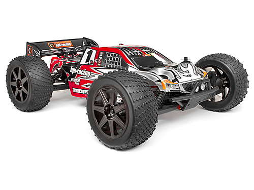 Clear Trophy Truggy Bodyshell w/Window Masks and Decals