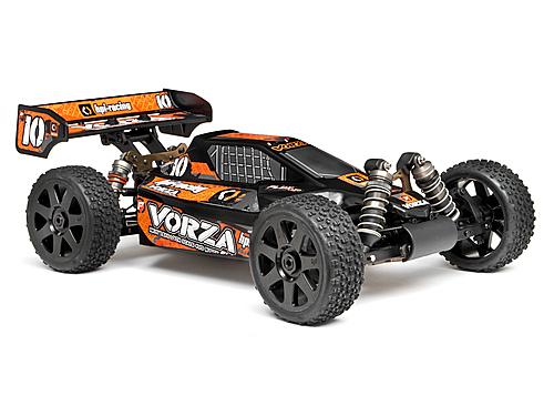 HPI Vorza VB-1 Buggy Body - Pre Painted Black/Orange