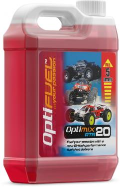 Opti Power Fuel RTR 20% Nitro - 5 Litre