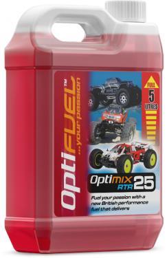Opti Power Fuel RTR 25% Nitro - 5 Litres