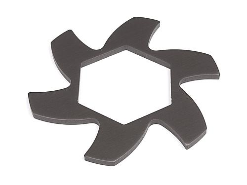Brake Disk Fin Plate - Gunmetal