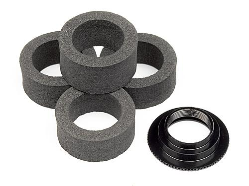 HPI Servo Saver Foam (4Pcs) With Adjust Nut