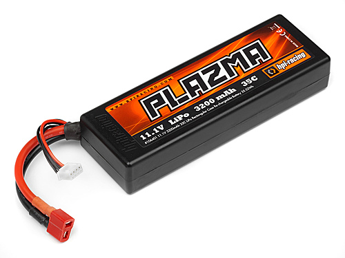 HPI Plazma Low Profile LiPo - 3S 11.1v 3200mAh 35C