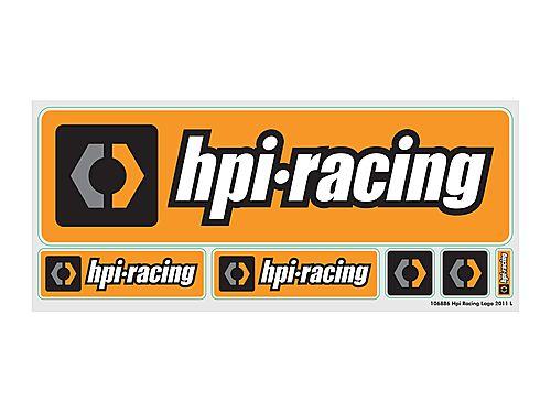 HPI Racing Logo Decal Sheet ** CLEARANCE **