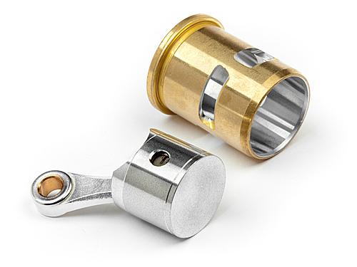 HPI G3.0 HO Cylinder/Piston/Con Rod Set