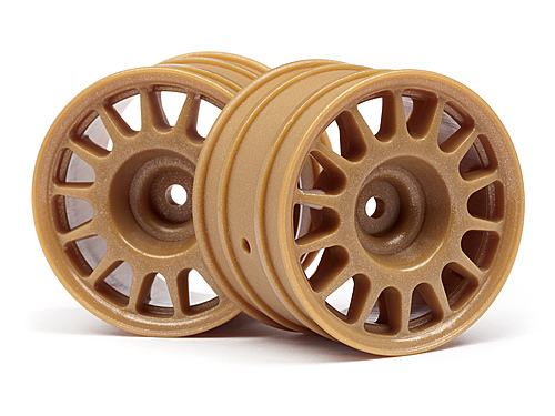 HPI WR8 Rally Off Road Wheels - 48 x 33mm - Bronze (2)