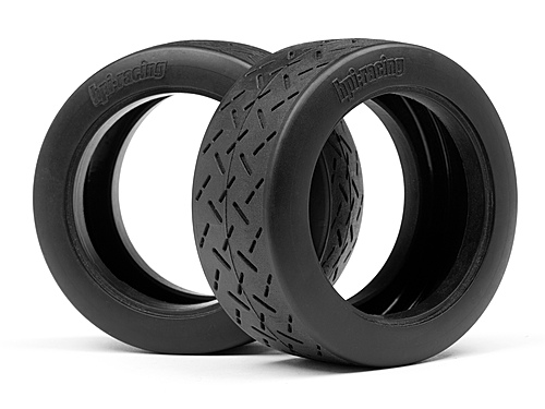 HPI WR8 Tarmac Tyres - D Compound (2) - 57 x 80mm