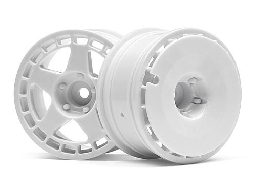 HPI Fifteen52 Turbomac Wheels - White - 26mm - 1 Pair