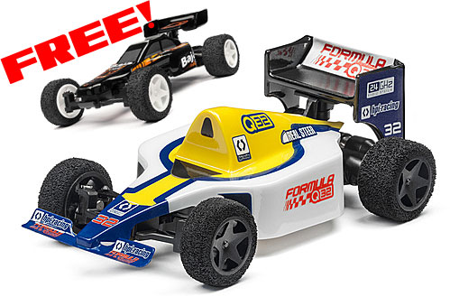 HPI Q32 Formula 1 - Blue - PLUS FREE BAJA Q32 BODY SET