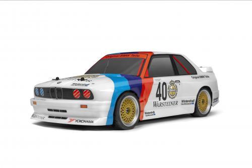 HPI RS4 Sport 3 - BMW M3 E30 Warsteiner