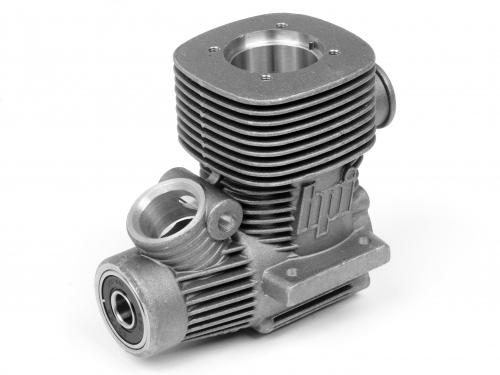 Crank Case (Silver/F3.5) Nitro Star F3.5 ** CLEARANCE **
