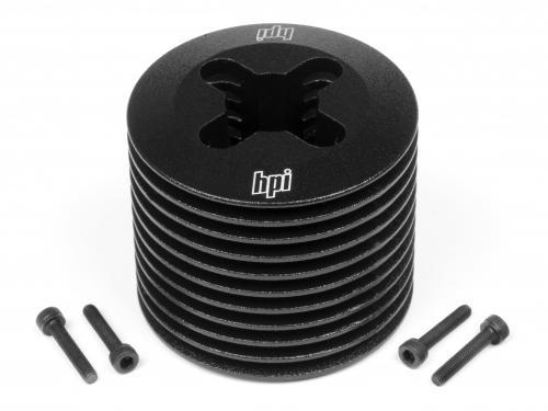 Aluminum Heatsink Head - Black Nitro Star F3.5