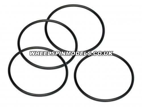 O-Ring 50x2.6mm Black (4Pcs)