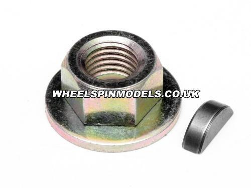 Flywheel Lock Nut M7 & Key Set Fuelie Petrol Engine