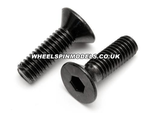 Flat Head Screw M6x16mm (2Pcs) Fuelie Engine