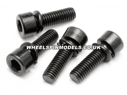 Cap Head Screw M5x16mm with Sp Washer (4Pcs) Fuelie Engine