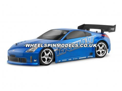 Nissan 350Z Greddy Twin Turbo Bodyshell (190mm Clear)
