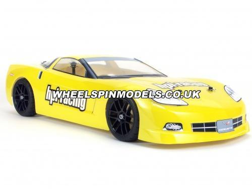 HPI Chevrolet Corvette C6 Clear Bodyshell - 200mm