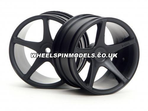 Super Star Wheel (2.2) (Black) (Super Nitro)