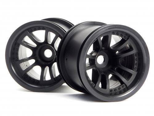 Split 5 Truck Wheel Black - Firestorm - Hex Fit