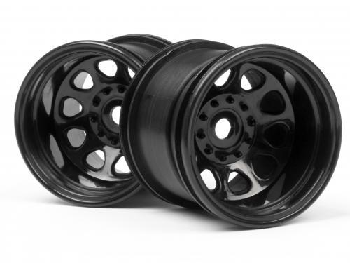 Classic King Wheel Black Wheely King (2.2In - 2Pcs)