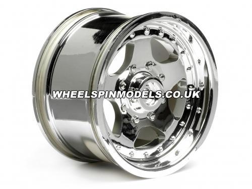 HPI Classic King 2.2 Wheels - Chrome