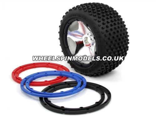 Wheel Bead Lock Rings - Black (For 2 Wheels)