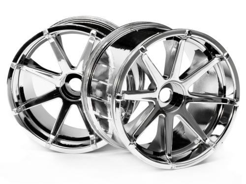 Blast Wheel Chrome(115x70mm 7inch/2pcs