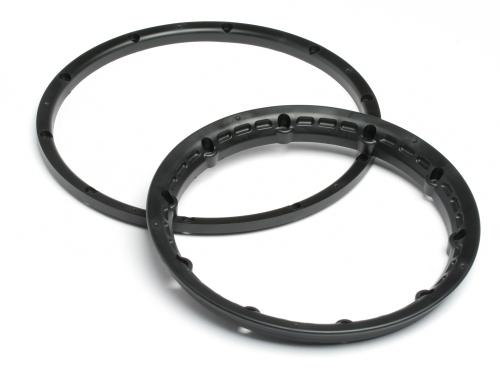 Heavy Duty Wheel Bead Lock Rings for HPI Baja 5B - Black (1 Pair - fits 2 Wheels) ** CLEARANCE **