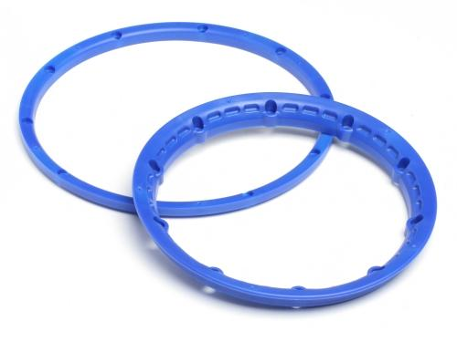Heavy Duty Wheel Bead Lock Rings for HPI Baja 5B - Blue (1 Pair - fits 2 Wheels) ** CLEARANCE **