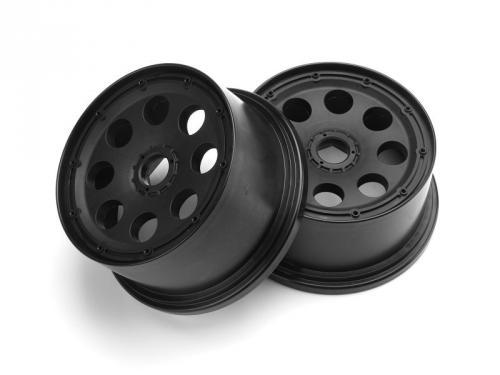 Outlaw Wheel Black 120x65mm/-10mm Offset (2Pcs)