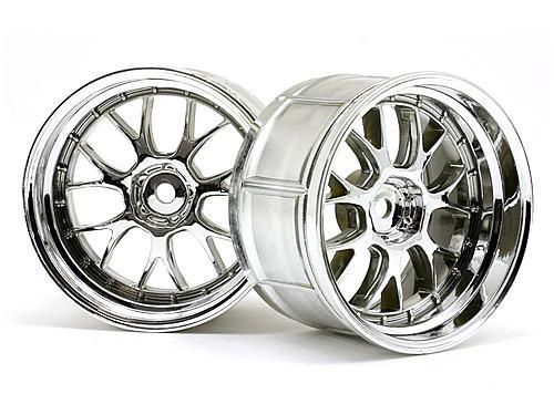 Lp35 Lm-r Wheel Chrome (2pcs)