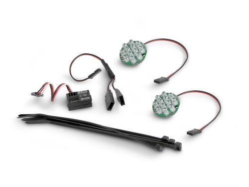 LED Light / Battery Indicator Set - White - HPI Baja 5B