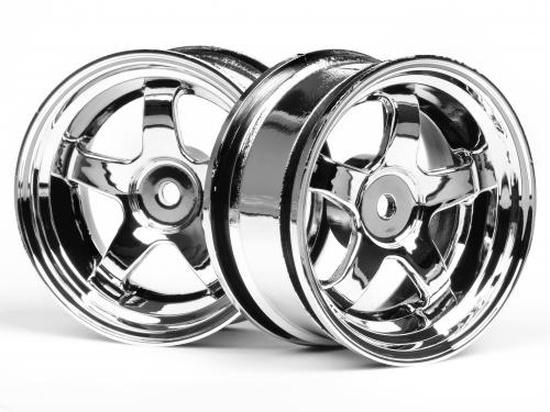 Work Meister S1 Wheel 26mm Chrome 3mm Offset ** CLEARANCE **