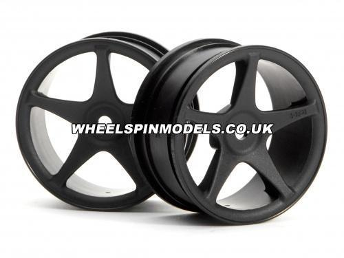 Super Star Wheel (26mm Black) (1mm Offset)